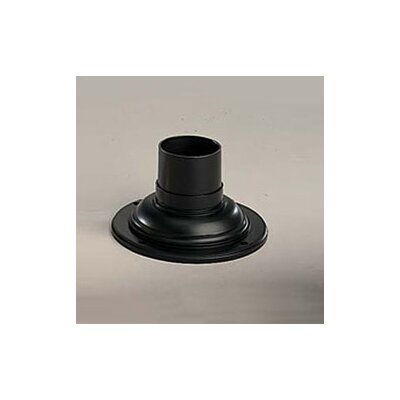 Kichler Outdoor Pedestal Mount Adapter in Black