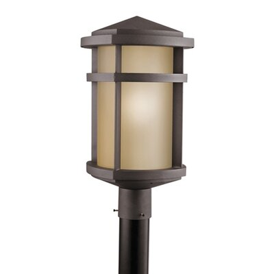 "Kichler Lantana 1 Light 1 Light 10.5"" Outdoor Post Lantern"