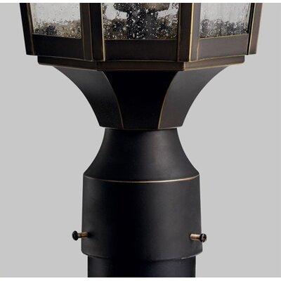 """Kichler Courtyard 1 Light 10.32"""" Outdoor Post Lantern"""