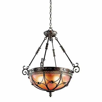 Marchesa 3 Light Inverted Pendant
