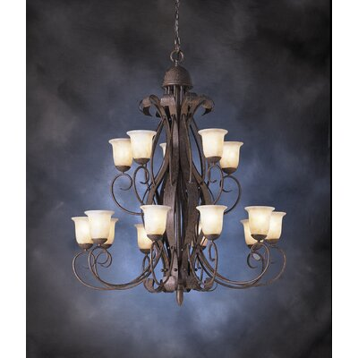 Kichler High Country Indoor 15 Light Chandelier