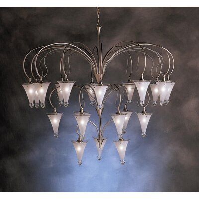 Kichler Raindrops 21 Light Chandelier