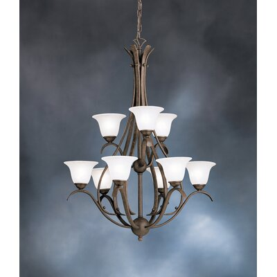 Kichler Dover 9 Light Chandelier