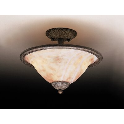 High Country 2 Light Semi Flush Mount