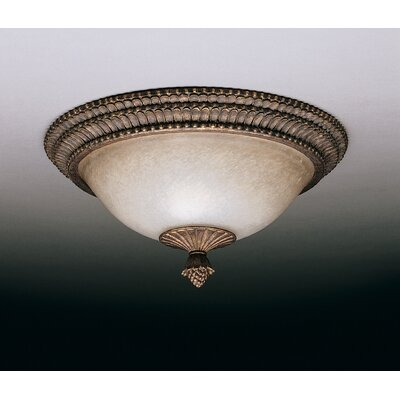 Larissa 2 Light Flush Mount