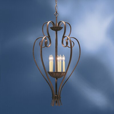 Kichler Willowmore 5 Light Foyer Pendant