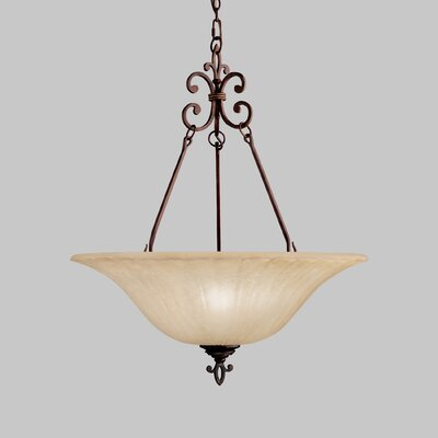 Kichler Wilton 3 Light Inverted Pendant