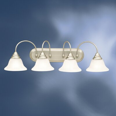Telford Vanity Light in Brushed Nickel