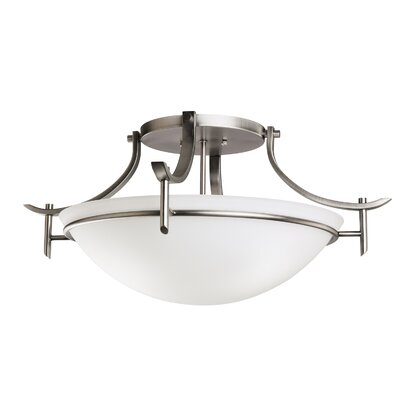 Kichler Olympia 3 Light Semi Flush Mount
