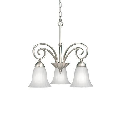 Kichler Willowmore 3 Light Chandelier