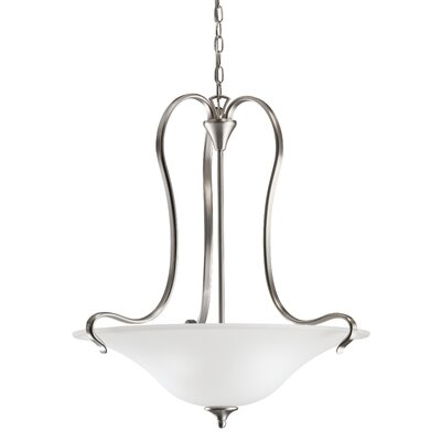 Wedgeport 3 Light Inverted Pendant