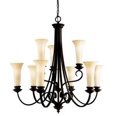 Kichler Abbeyville 9 Light Chandelier
