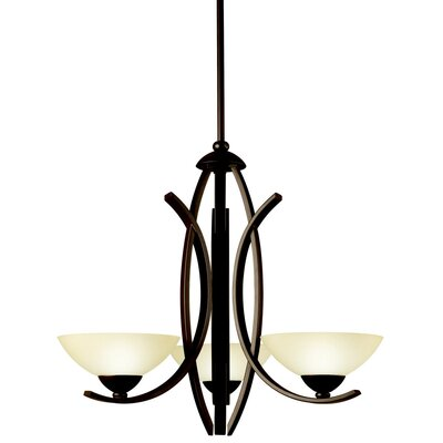Kichler Bellamy 3 Light Chandelier