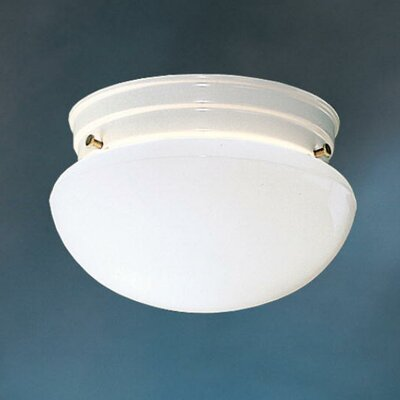 Kichler Ceiling Space 1 Light 60W Flush Mount
