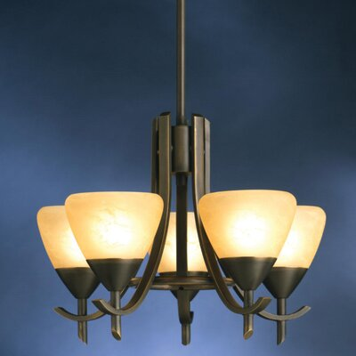Kichler Olympia 5 Light Chandelette
