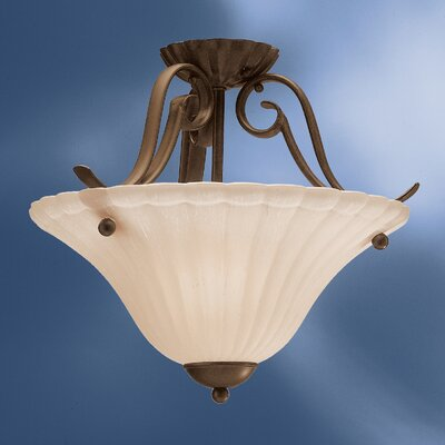 Kichler Willowmore 1 Light Semi Flush Mount