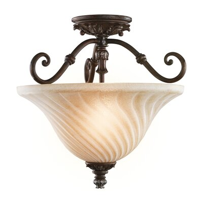 Kichler Sarabella 3 Light Semi Flush Mount