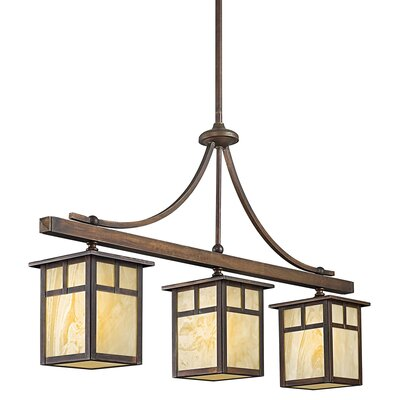Alameda 3 Light Kitchen Island Pendant