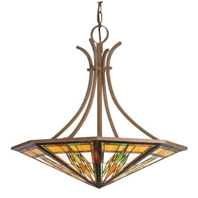 Kichler 6 Light Inverted Pendant