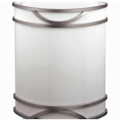 Kichler 1 Light Wall Sconce with Glass Shade