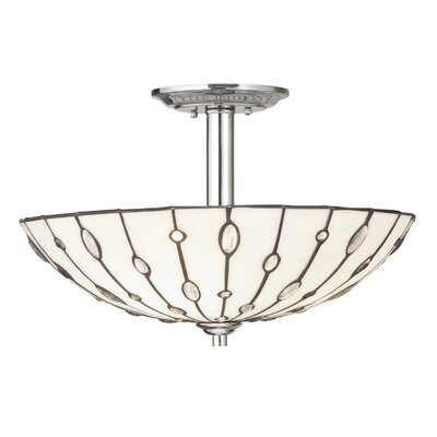 Kichler Cloudburst 3 Light Semi Flush Mount