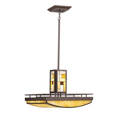Kichler Riverview 4 Light Inverted Pendant