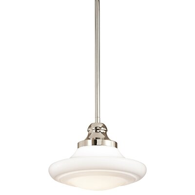 Kichler Keller 1 Light Schoolhouse Pendant