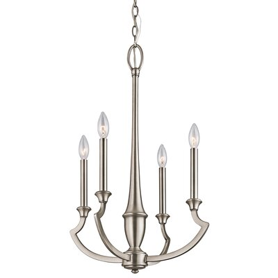 Kichler Semprini 4 Light Chandelier