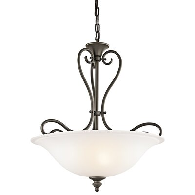 Tanglewood 3 Light Inverted Pendant