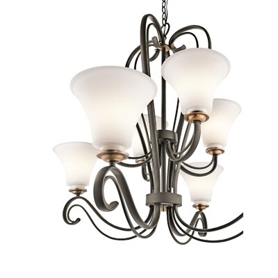 Kichler Claridge Court 8 Light Chandelier