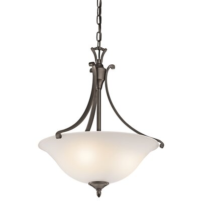Kichler Wellington 3 Light Inverted Pendant
