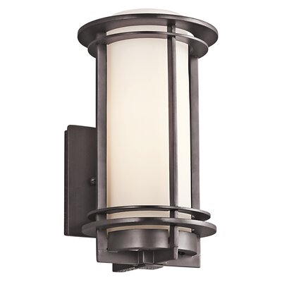 Wayfair External Wall Lights : Kichler Pacific Edge 1 Light Outdoor Wall Sconce & Reviews Wayfair