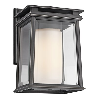 Kichler Lindstrom 1 Light Outdoor Wall Sconce | Wayfair