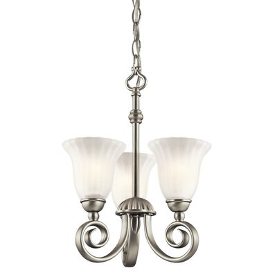 Kichler Willowmore 3 Light Convertible Chandelier