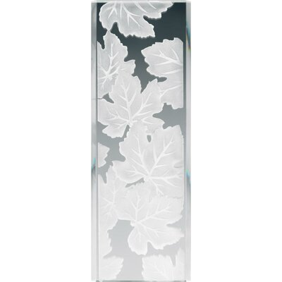 Kichler Stocked Glass Panel Maple Leaves