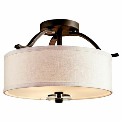 Kichler Leighton 3 Light Semi Flush Mount