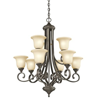 Kichler Monroe 9 Light Chandelier