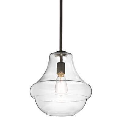 Kichler Everly 1 Light Schoolhouse Pendant