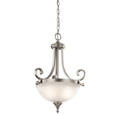 Monroe 2 Light Inverted Pendant