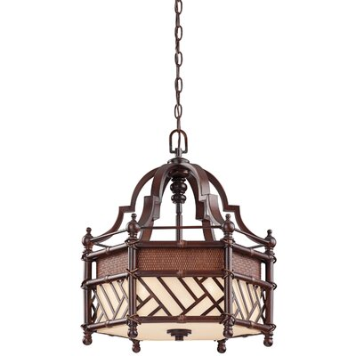 Kichler Rum Cove 3 Light Foyer Pendant