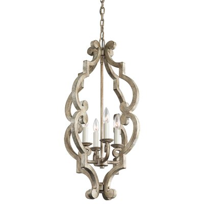 Kichler Hayman Bay 4 Light Foyer Chandelier
