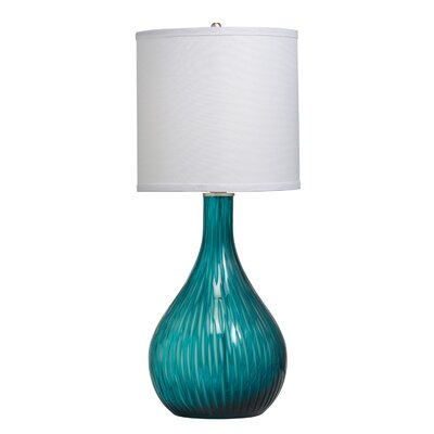 """Kichler Westwood Dharma 25"""" H Table Lamp with Drum Shade"""