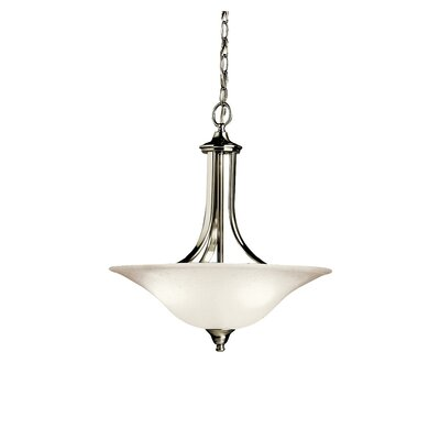 Kichler Dover 3 Light Convertible Inverted Pendant