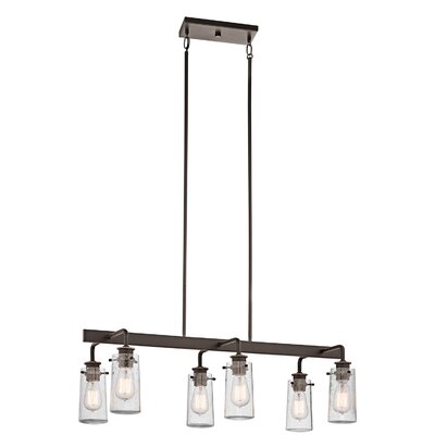 Kichler Braelyn 6 Light Linear Chandelier