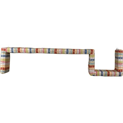 Jeffan Funstripes S-Shape Wall Shelf