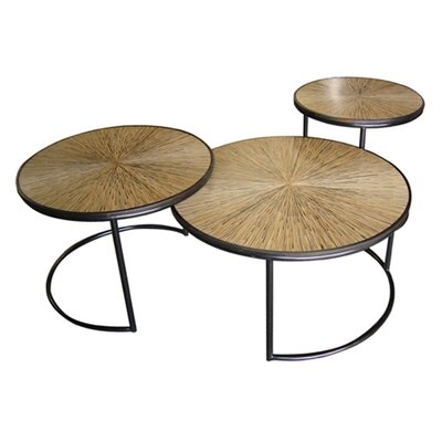 Jeffan Habitat Loma Coffee Table (Set of 3)