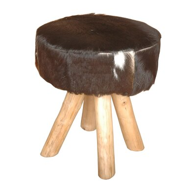 Jeffan Safari Hide Stool