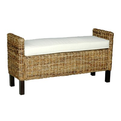 Jeffan Gabrillo Wood Bedroom Bench