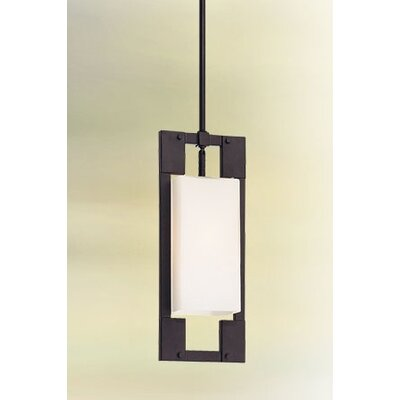 Troy Lighting Blade  Fluorescent Pendant in Forged Iron