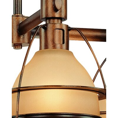 Troy Lighting Bristol Bay 4 Light Chandelier